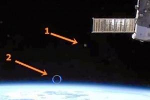 UFO avvistati vicino alla stazione spaziale internazionale (ISS)