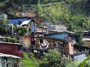 Baracche in Colombia