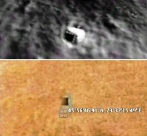 Basi sotterranee aliene sulla Luna e su Marte