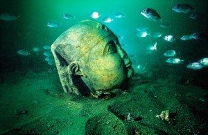 Città sommersa mare Egitto