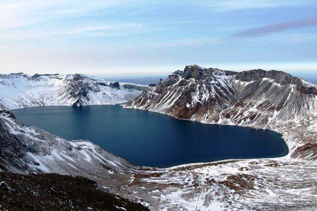 Il vulcano Monte Paektu a rischio eruzione distruttiva