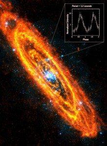 Stella neutroni in Andromeda