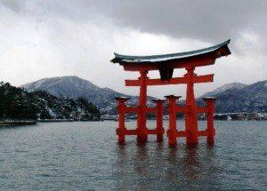 Torii santuario di Itsukushima