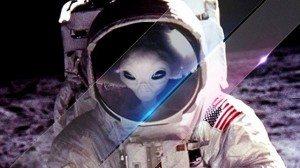 Missioni Apollo, Luna e alieni