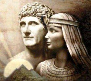 Cleopatra e Marco Antonio