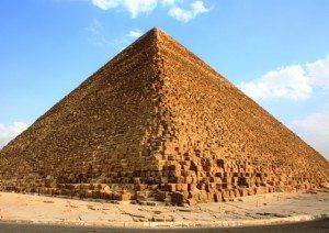 Piramide in Egitto