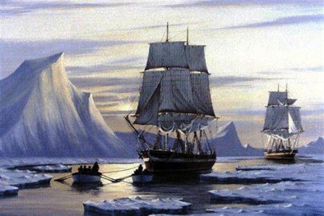 Ritrovata nel Mare Artico una nave scomparsa da 170 anni