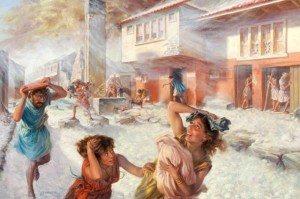 Distruzione Pompei