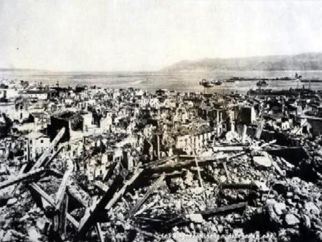 Le scomode verità del terremoto di Messina e Reggio del 1908