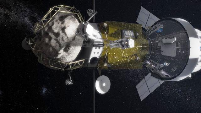 Asteroid Redirect Mission: come cambiare orbita ad un asteroide
