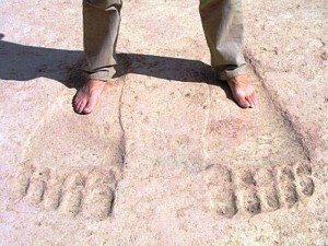 Impronte giganti Tempio Ain Dara