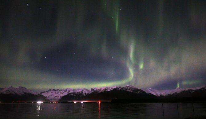 Aurora boreale in Svezia ha prodotto uno strano suono (video)