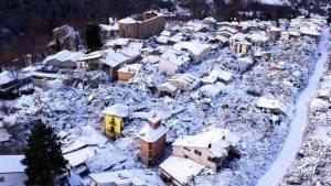 Terremotati e gelo