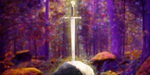 Re Artù e la spada nella roccia