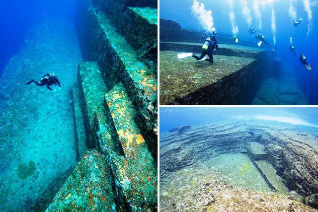 Yonaguni: le misteriose strutture sottomarine del Giappone